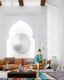Moroccan Style Living Room Design