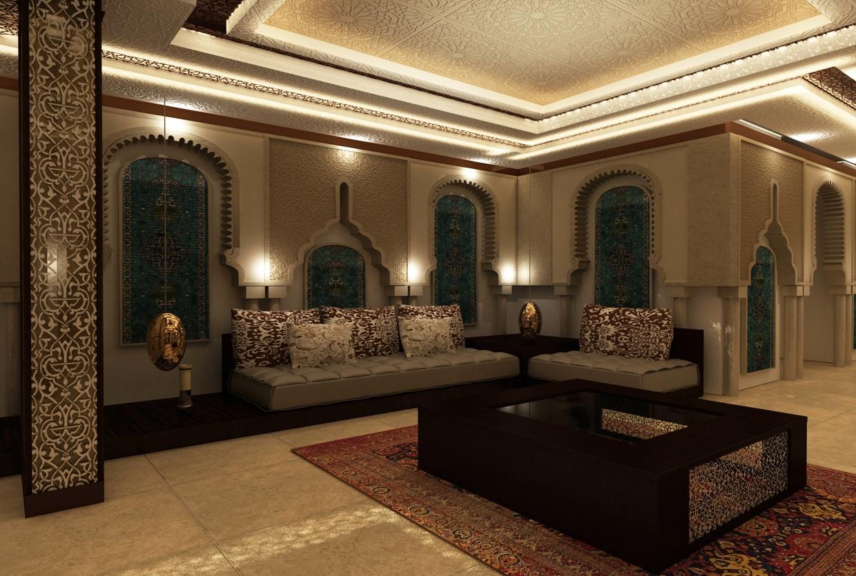 moroccansittingroom  Interior Design Ideas