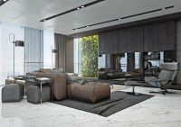 4 Masculine Apartments with Super Comfy Sofas and Sleek ...