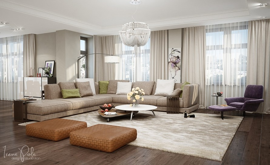 spacious-living-room-design | Interior Design Ideas.