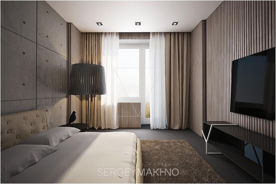 warmindustrialbedroom  Interior Design Ideas