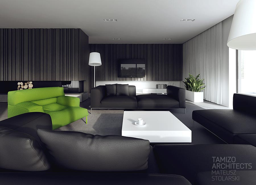black and white living room furniture ideas light in contrast-design-ideas | interior design ideas.