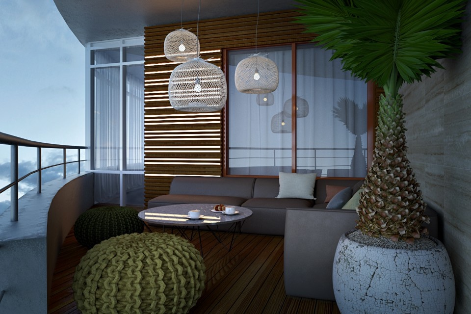 tropicalbalconydesign  Interior Design Ideas