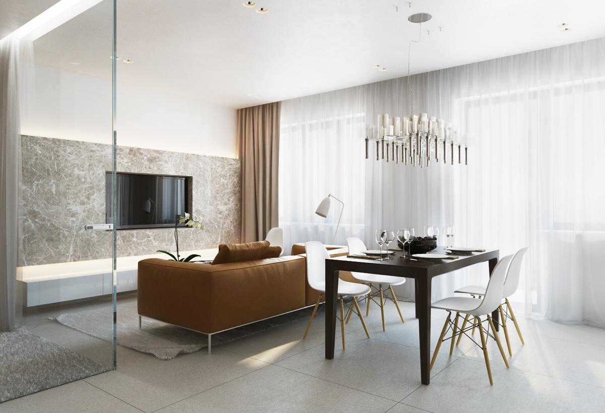 Interior Design Warm Modern Living Room Novocom Top