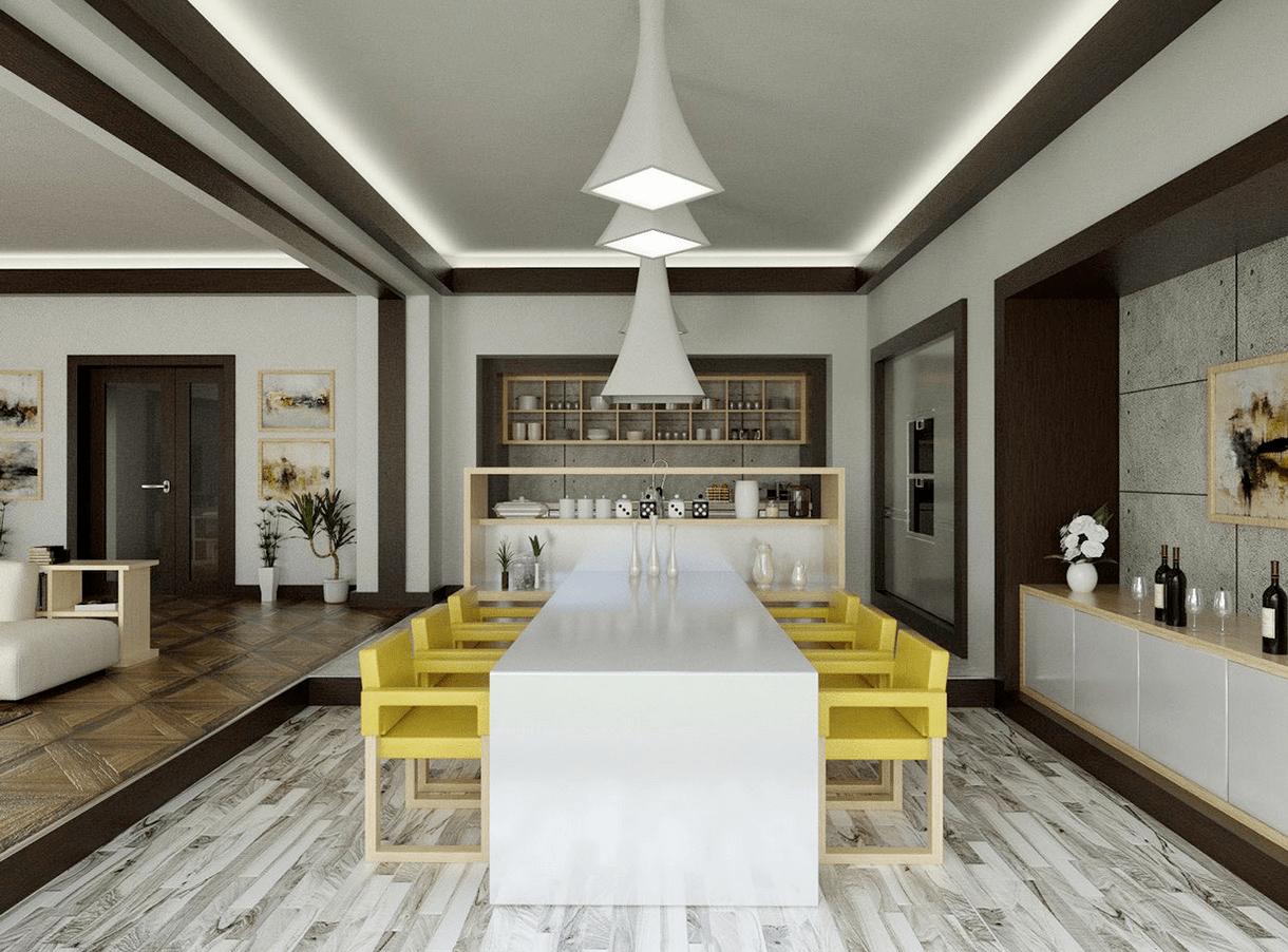 coolcontemporarydiningroom  Interior Design Ideas