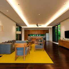 Luxury Apartment Living Room Ideas Abstract Canvas Art Mustard-yellow-area-rug | Interior Design Ideas.