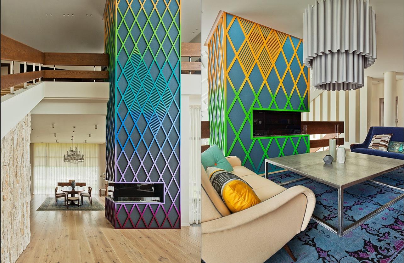 superfunkyfireplace  Interior Design Ideas