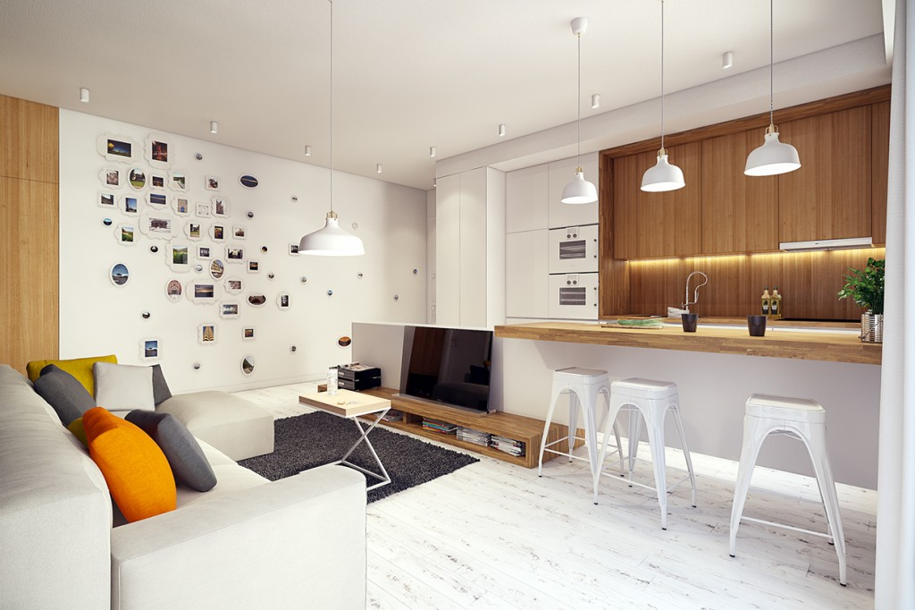 2 Sunny Apartments with Quirky Design Elements