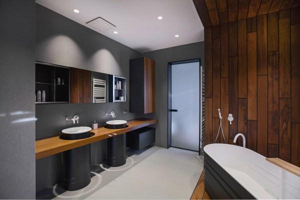 Industrial Interior Design Bathroom