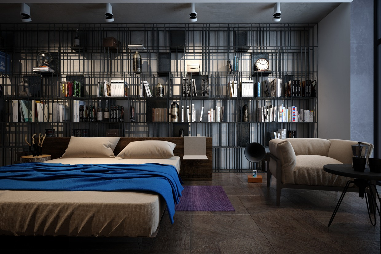 blue walls living room apartment decorating ideas accentuate the positive in two artful apartments