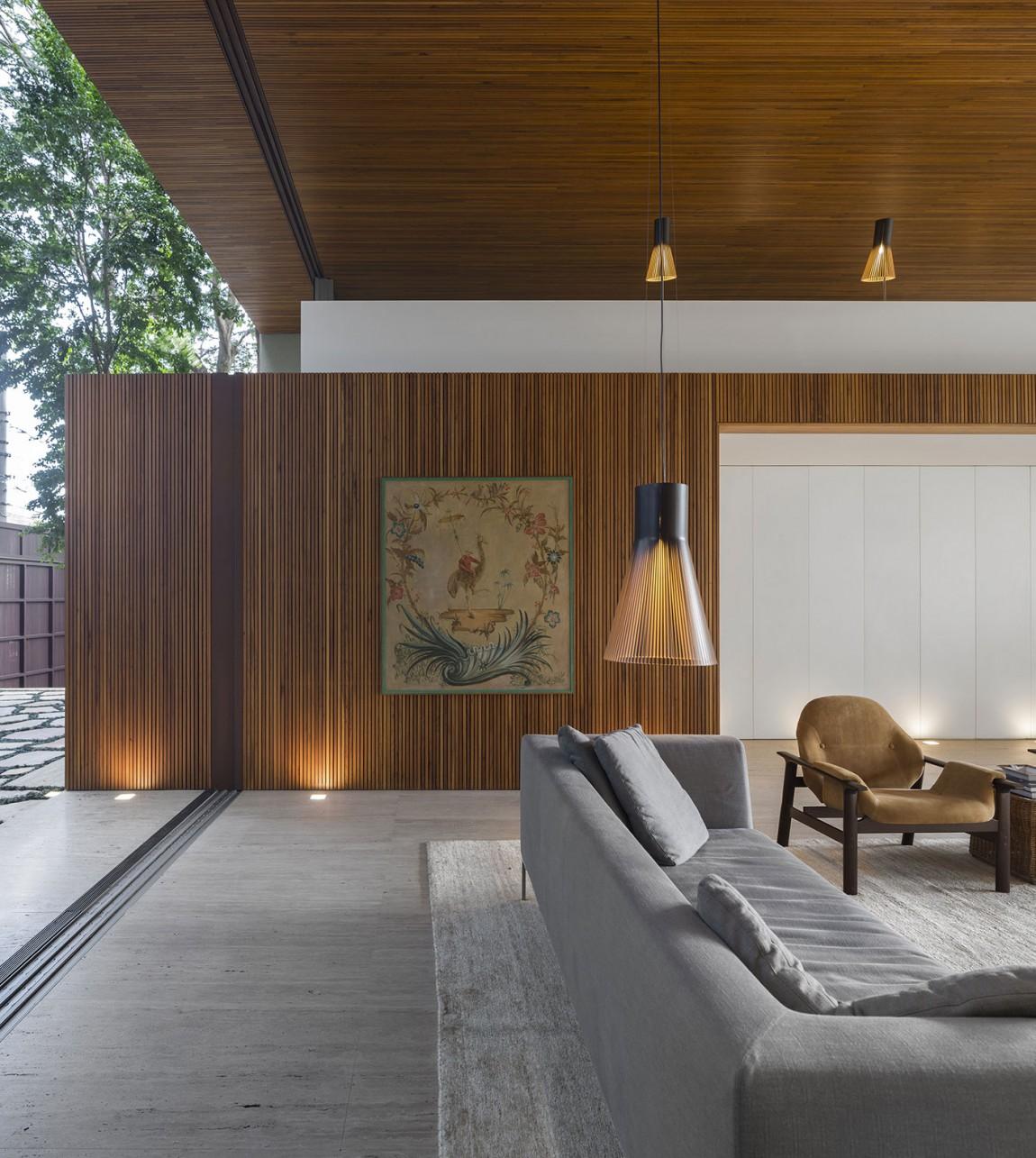 Tetris House A Creatively Organized Modern Brazilian Home