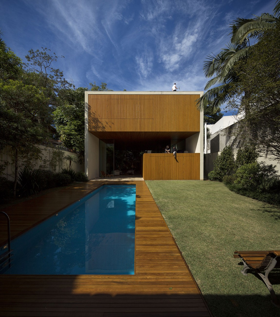 Narrow Pool Interior Design Ideas