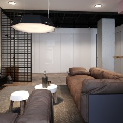Small Living Room Sectional Sofa Black Craigslist Accentuate The Positive In Two Artful Apartments