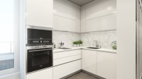 white-marble-backsplash | Interior Design Ideas.