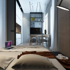 Small Apartment Kitchen Ideas Metal Islands Designing For Spaces: 3 Beautiful Micro Lofts