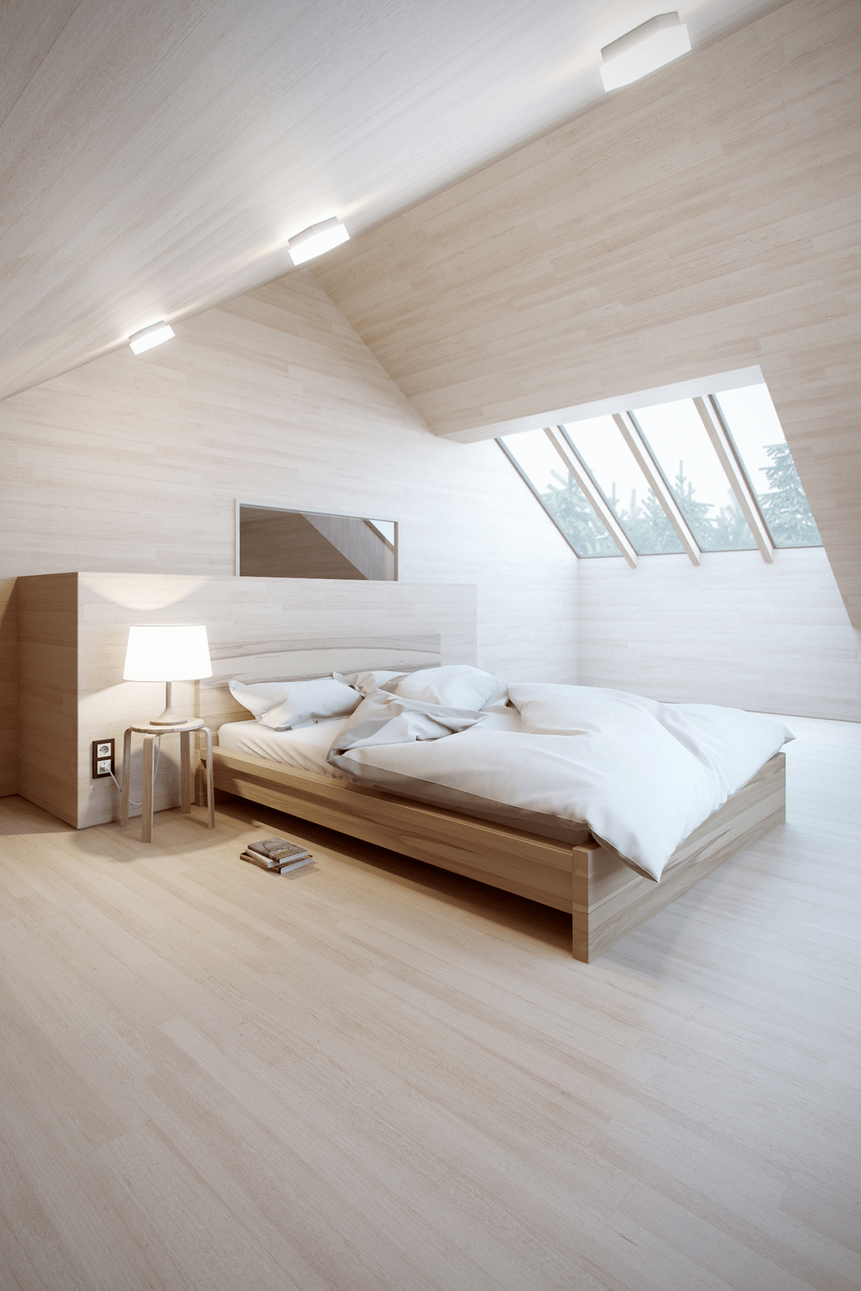allnaturalwoodbedroom  Interior Design Ideas