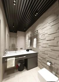 black-ceiling-beams | Interior Design Ideas.