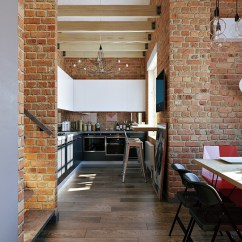 White Wood Kitchen Table Ge Slate 3 Stylish Industrial Inspired Loft Interiors