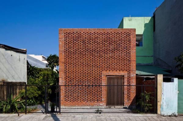 Creative Brick House Controls Interior Climate And Amazing