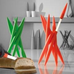Red Kitchen Knife Set Wilsonart Cabinets 40 Unique Designer Knives For Your Home