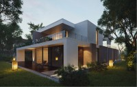 Modern Home Exteriors with Stunning Outdoor Spaces
