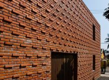A Creative Brick House Controls the Interior Climate and ...