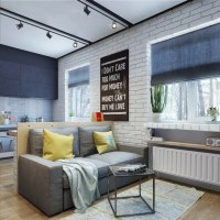 Apartment Designs For A Small Family, Young Couple And A ...