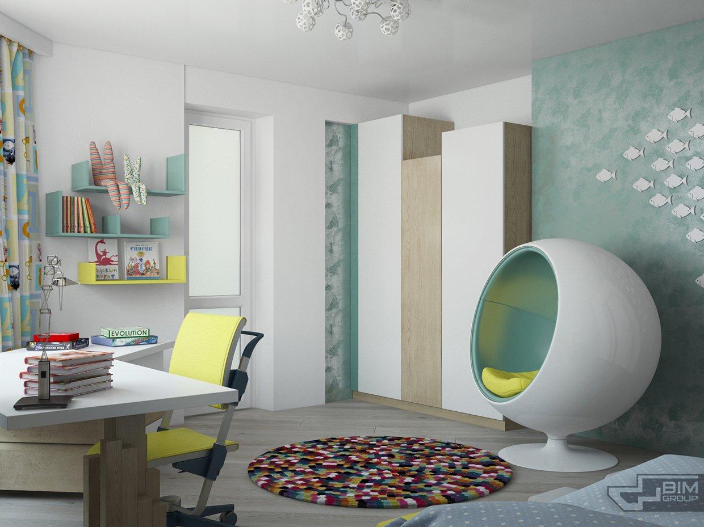 modern egg chair backrest for office interior design ideas