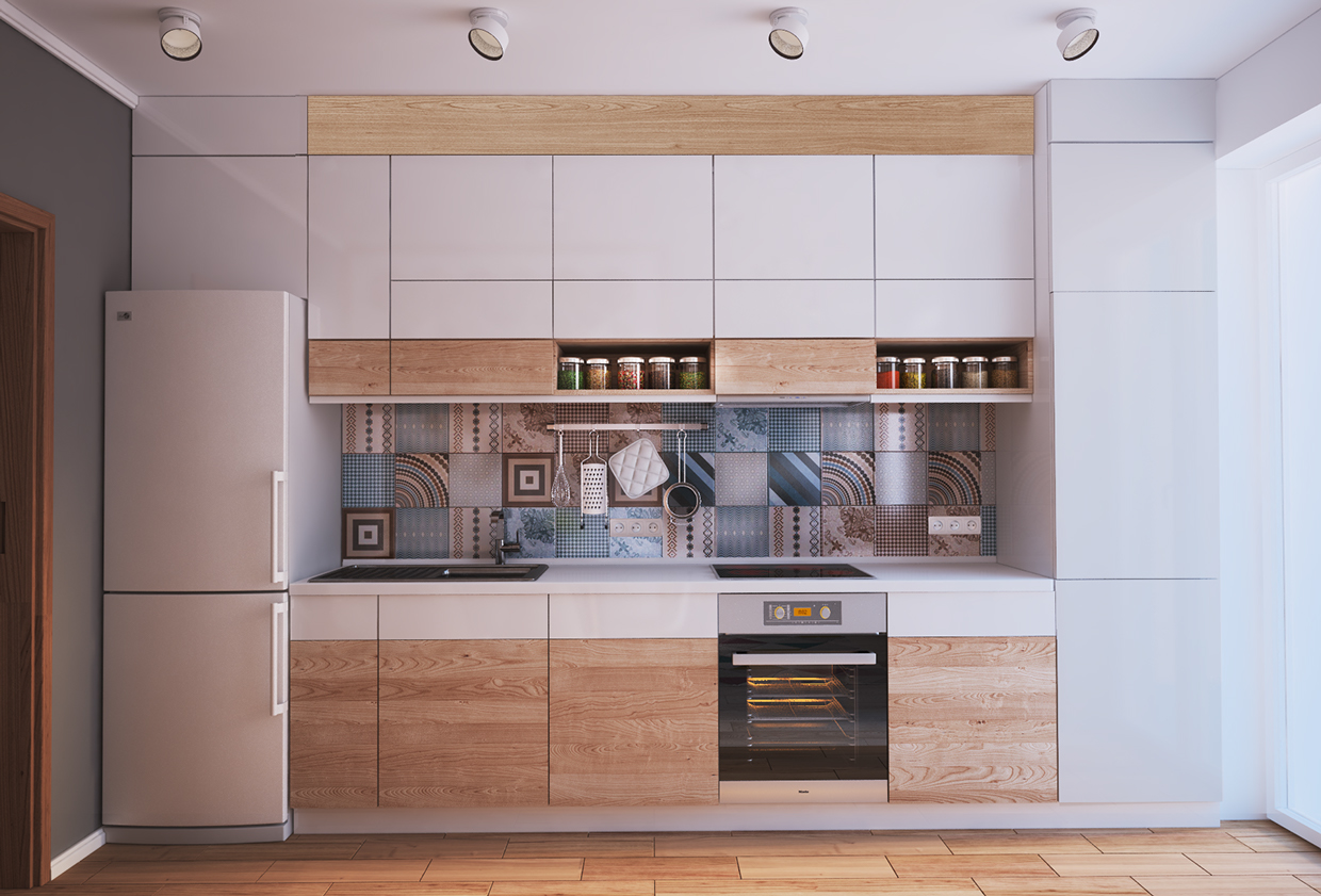 living small with style: 2 beautiful small apartment plans under 500