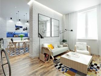square apartment feet living meters under plans brick designer anton
