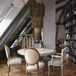 Pictures Of Grey Living Rooms Latest Room Furniture Designs Three Dark Colored Loft Apartments With Exposed Brick Walls