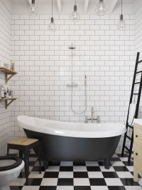 modern-clawfoot-tub | Interior Design Ideas.