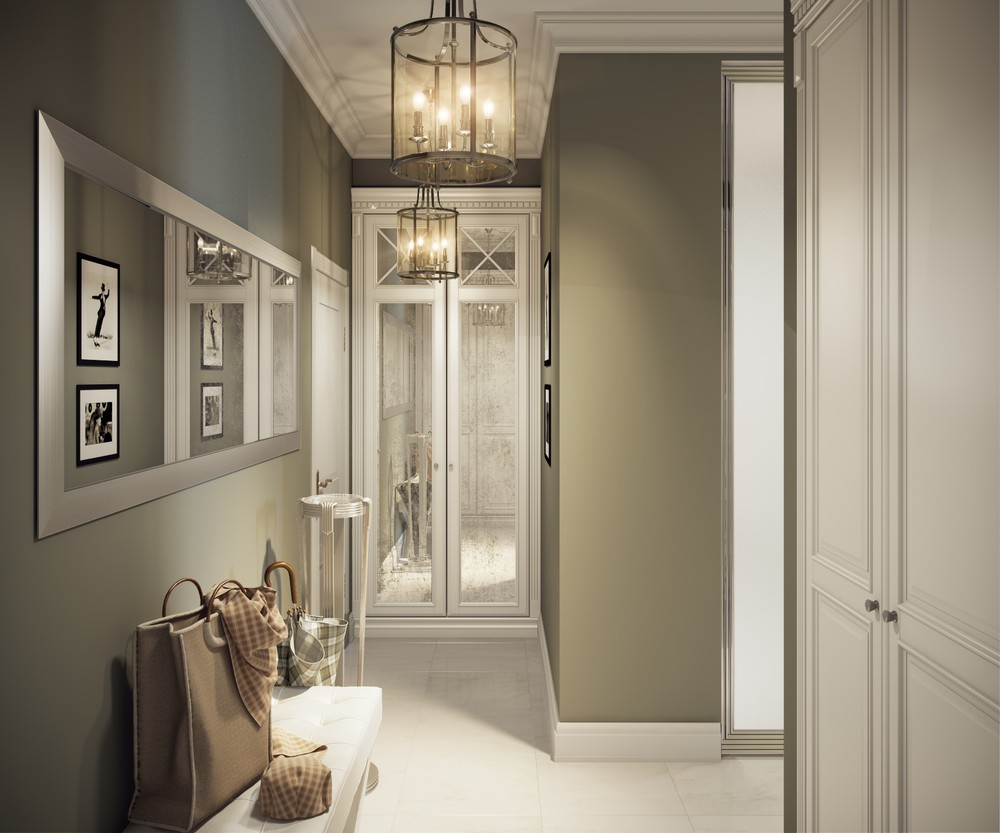 sagegreenwalls  Interior Design Ideas