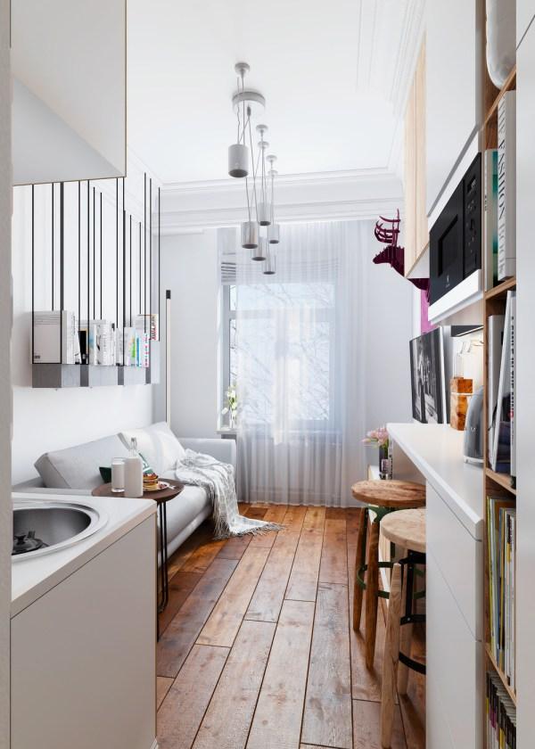 Designing Super Small Spaces 5 Micro Apartments