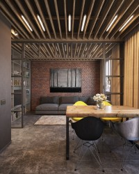 Exposed Wood Beam Ceiling | Interior Design Ideas.
