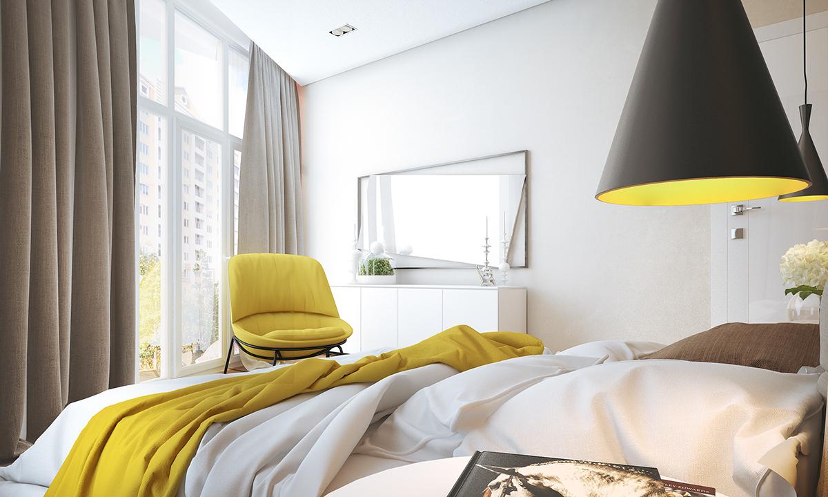 Brightbedroomlighting  Interior Design Ideas