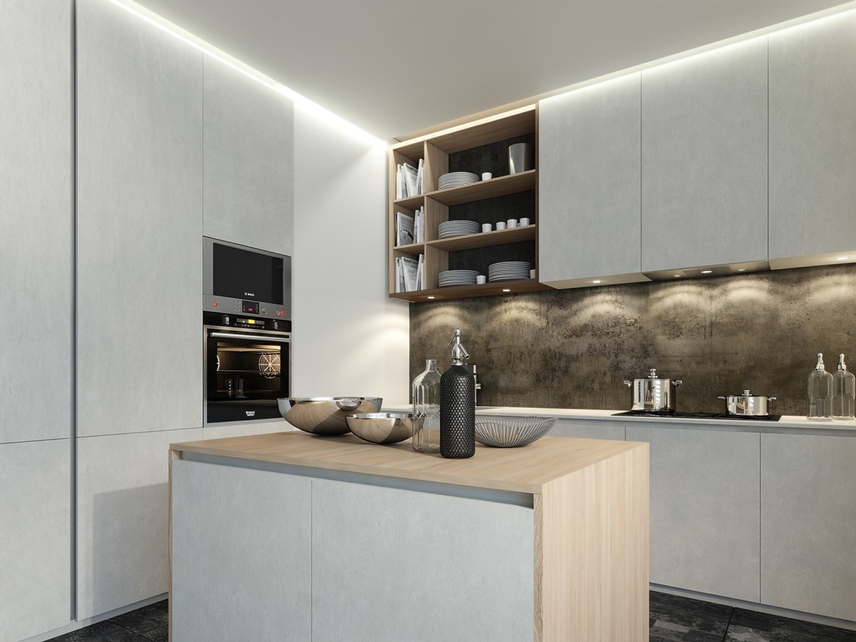 smallmodernkitchendesign  Interior Design Ideas