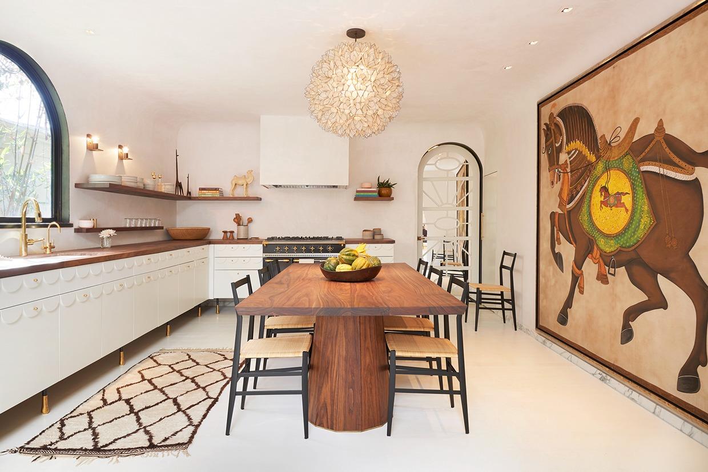 Spanish Style Dining Room Interior Design Ideas