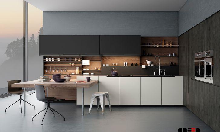 Sleek kitchen with a simplicity wallpaper design modern of desktop full hd pics