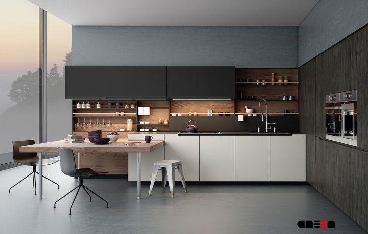 Kitchen Cabinets: Design Kitchen Modern 2015. Sleek Kitchen With A Simplicity Wallpaper Design Modern Of Desktop Full Hd Pics