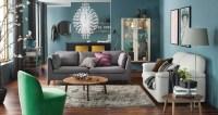 artsy-urban-living-room | Interior Design Ideas.