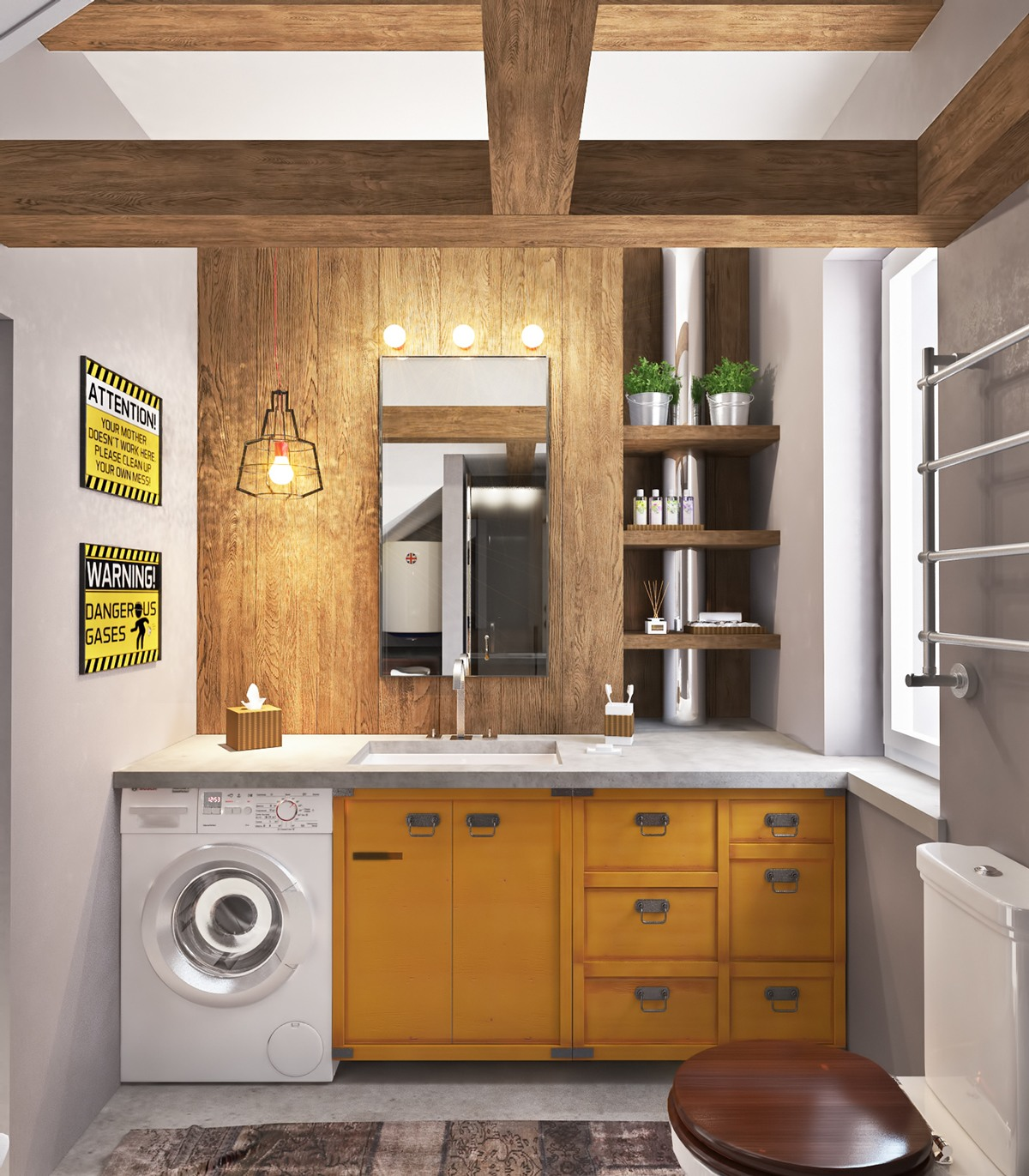 Concrete Finish Studio Apartments Ideas Amp Inspiration