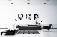 black-and-white-living-room | Interior Design Ideas.