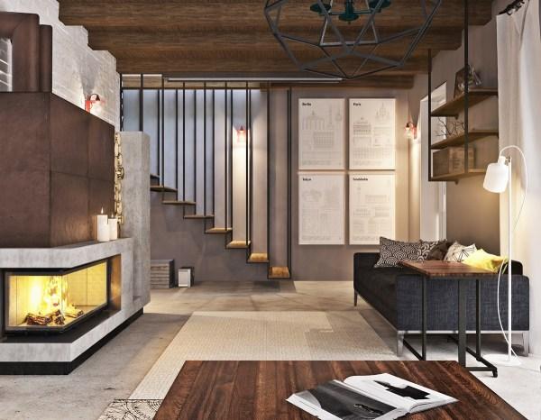 Finished Basement Apartment Ideas