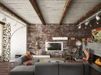 exposed-brick-wall | Interior Design Ideas.
