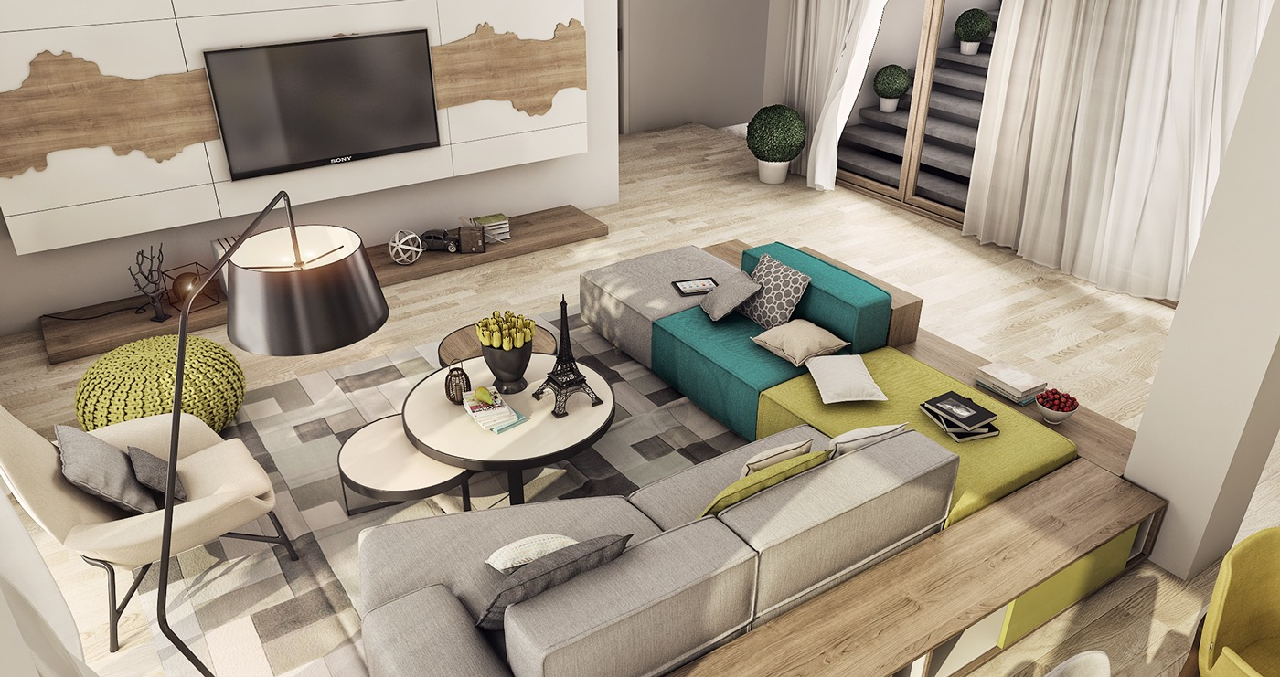 luxury apartment living room ideas chest of drawers 2 designs for young couples