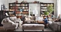 living-room-bookshelves | Interior Design Ideas.