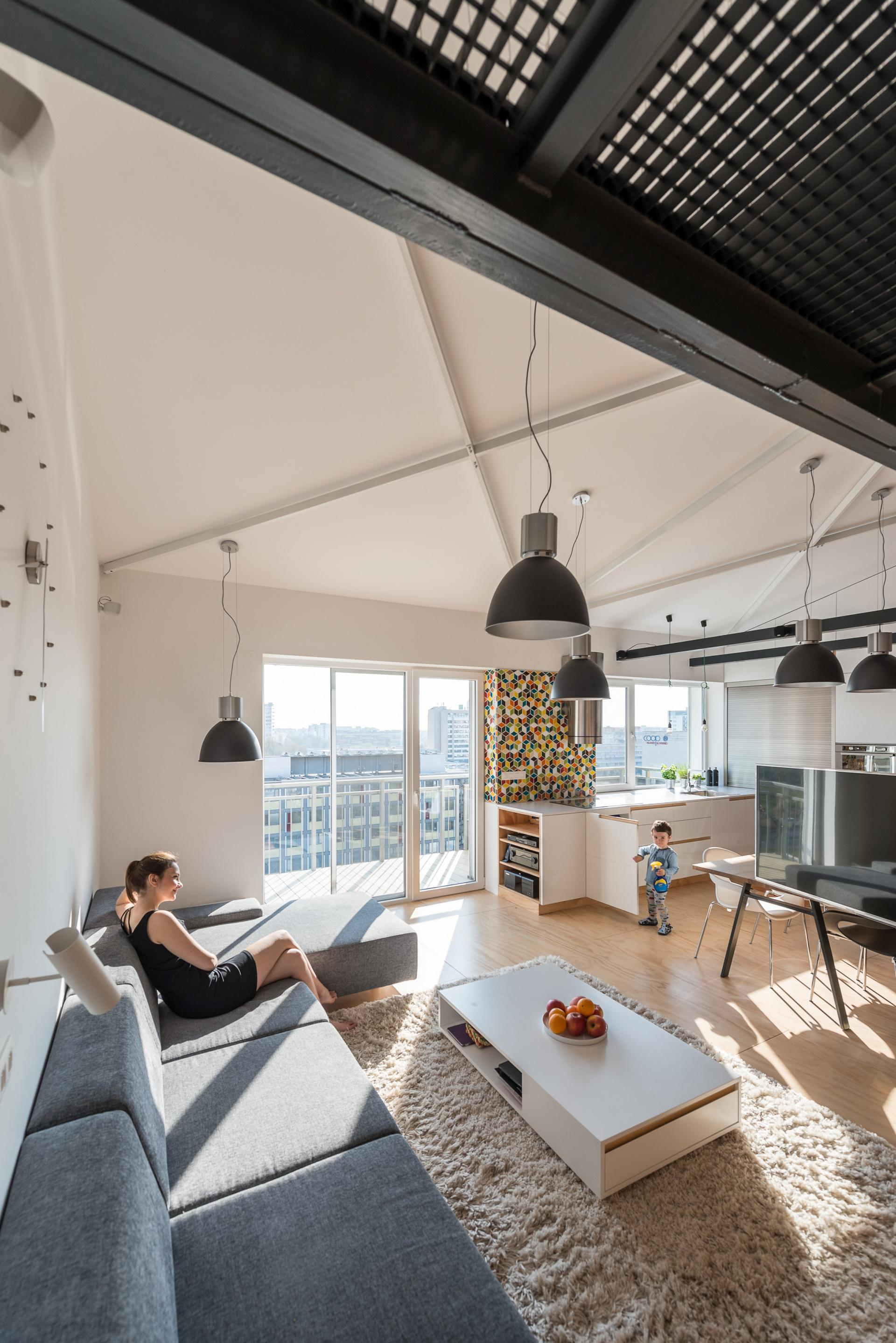 Loft Design For A Family That Makes Clever Use Of Its Space