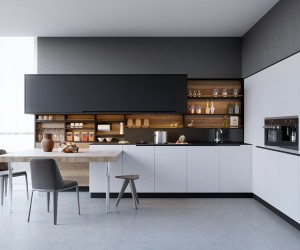design kitchen facet 20 sleek designs with a beautiful simplicity black white wood kitchens ideas inspiration