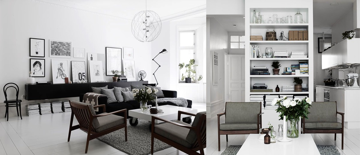 black and white themed living rooms room appliances scandinavian design ideas inspiration
